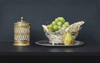SC五味文彦「銀食器と葡萄」