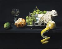 SC五味文彦「果物と銀食器」